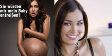 Jana Ina: Hochschwanger & nackt für Peta