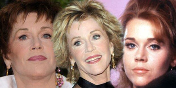 Jane Fonda gönnt sich ein neues Gesicht