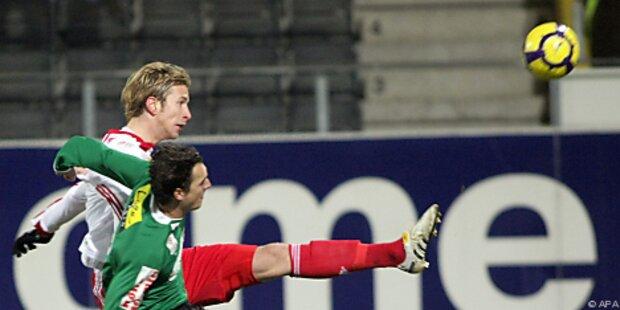 Salzburg nach 2:1-Sieg wieder Tabellenführer