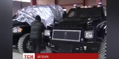 Zu sehen: Alle Autos von Janukowitsch