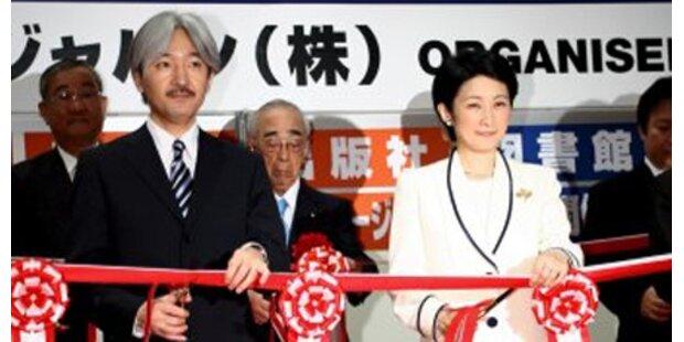 Japans Prinzenpaar verzückt Österreich