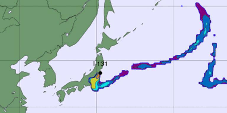 Japan wieder von Atom-Wolke bedroht