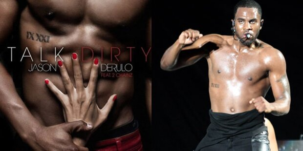 Jason Derulo versext Single-Charts