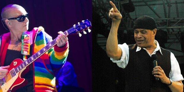 Sinead O'Connor und Al Jarreau rocken Wien