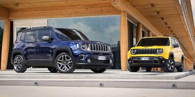 Jeep Renegade kommt als Plug-in-Hybrid