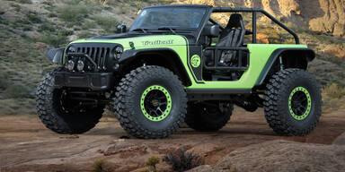 Jeep Trailcat mit 6,2l-Hellcat-V8-Motor