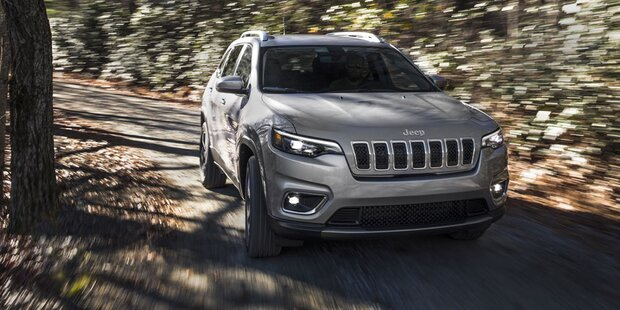 Großes Facelift für den Jeep Cherokee