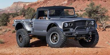 Jeep zeigt coolen Pick-up im 1968er-Look
