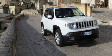 Jeep Renegade mit 1,6l-Diesel & Automatik