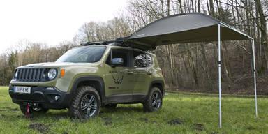 Jeep Renegade in der Hunter Edition