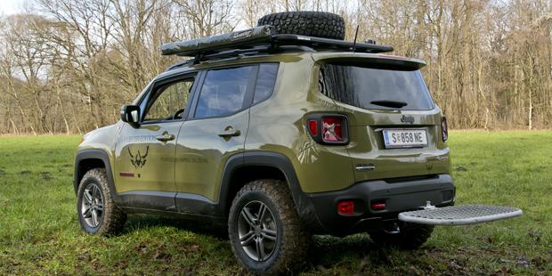 jeep renegade in der hunter edition. Black Bedroom Furniture Sets. Home Design Ideas