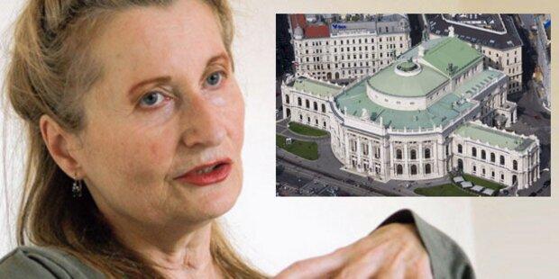 Jelineks Grußbotschaft an Burgtheater