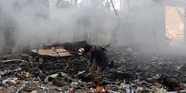 Jemen Luftangriffe