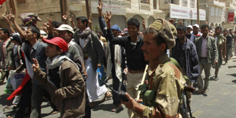 Proteste in der jemenitischen Hauptstadt Sana'a