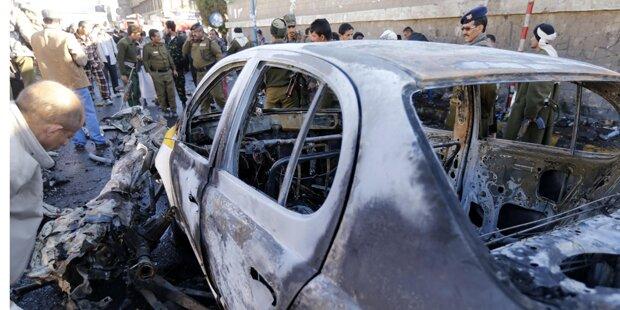 Jemen: 40 Tote durch Autobombe