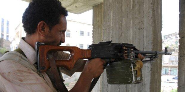 TV: 25 Tote bei Kämpfen im Süden Jemens