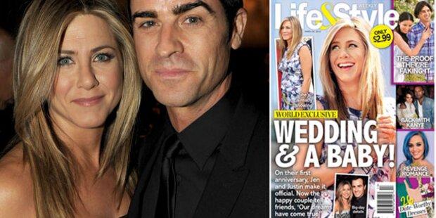 Jennifer Aniston: Ein Baby mit Justin?