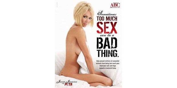 So kämpft Jenna Jameson für Safer-Sex unter Tieren