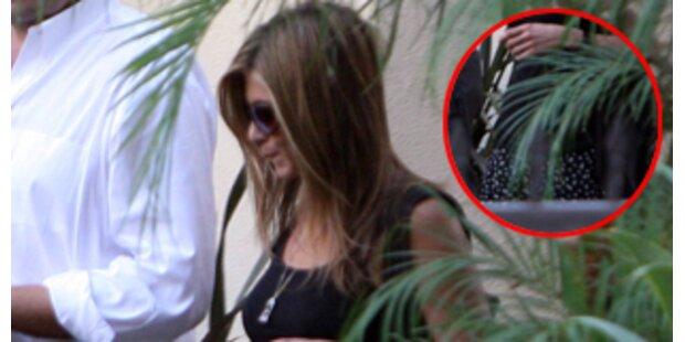 Erwartet Jennifer Aniston ein Baby von John Mayer?