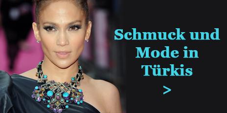 Jennifer Lopez Türkis Schmuck Mode Fashion Farbe Sommer