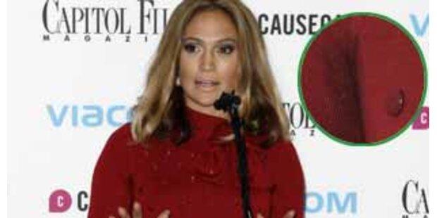 Jennifer Lopez, das Wollkleid & die Schweißflecken
