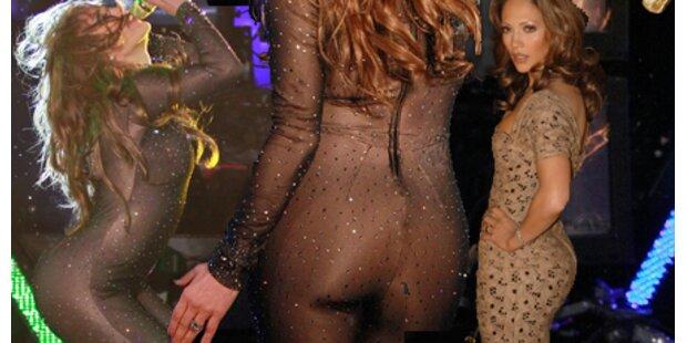Jennifer Lopez ist stolz auf ihren Po