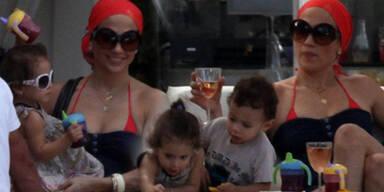 Jennifer Lopez mit Emme & Max
