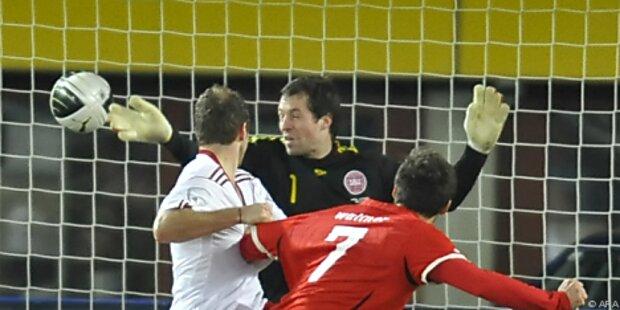 Harte Kritik an Jensen nach Dänemarks 1:2 in Wien