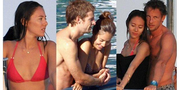 Die Frau, die Jenson Button heiß macht
