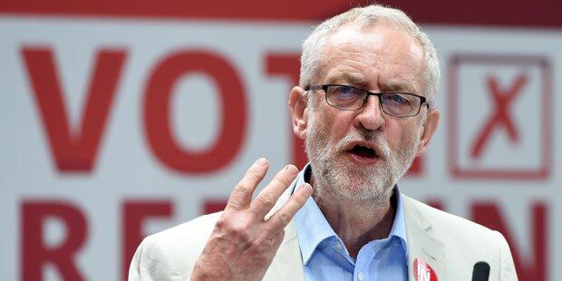 Corbyn mit großer Mehrheit im Amt bestätigt