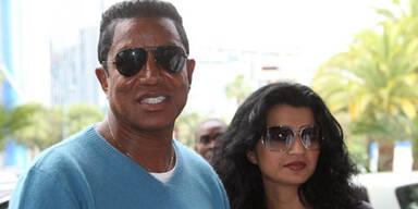 Jermaine Jackson & seine Frau Halima Rashid