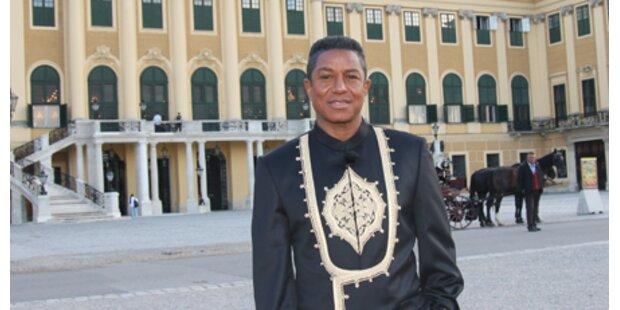 Jermaine Jackson dreht in Schönbrunn!