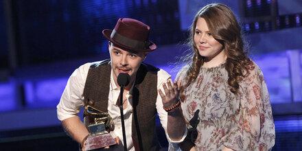Jesse & Joy räumten Latin-Grammys ab