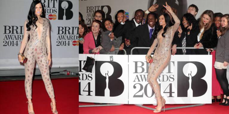 Jessie J zeigt viel Dekollete am Red Carpet