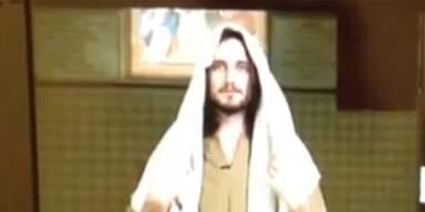 Christian Jankowski ließ Super-Jesus casten
