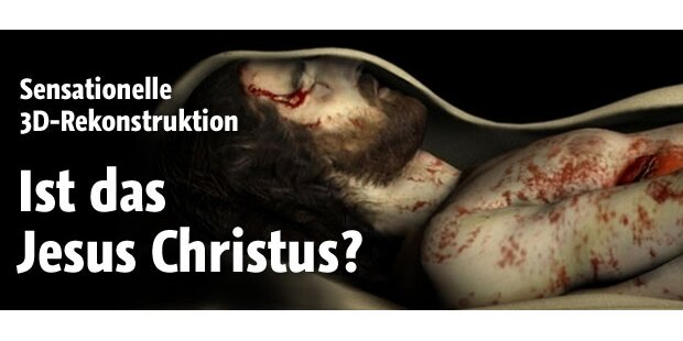 3D-Bild von Jesus rekonstruiert