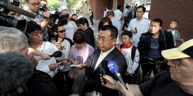 Nach Treffen mit Merkel: Chinesischer Bürgerrechtler vor Gericht