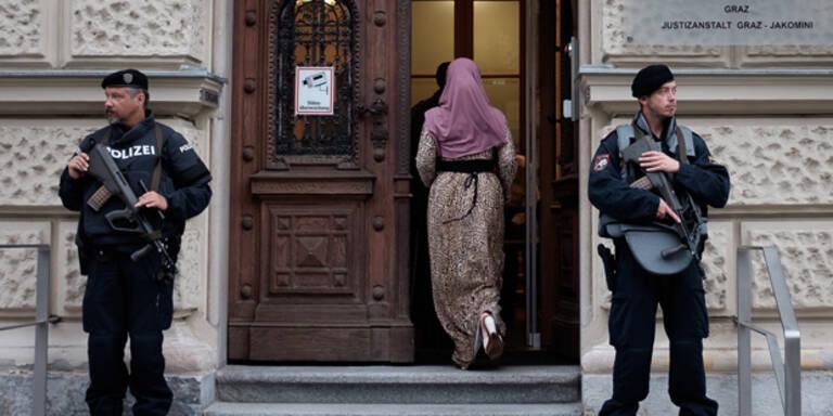 """Jihadisten-Prozess: """"Habe keine Gefahr gespürt"""""""