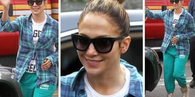 Jennifer Lopez im Gammellook
