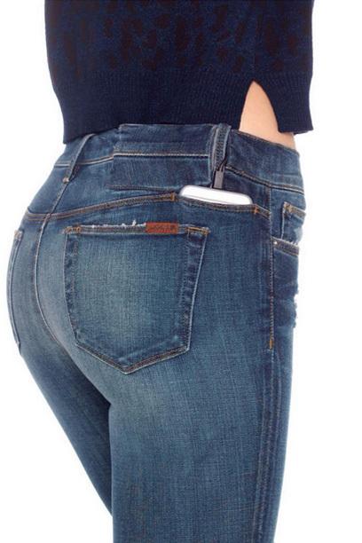 Diese Jeans lädt Akkus auf!