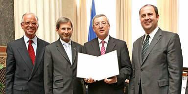Hahn ist EU-Krisen-Manager