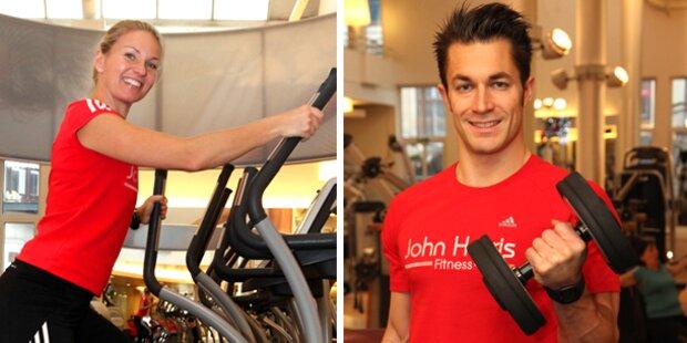 John Harris Fitness: So werden Sie topfit