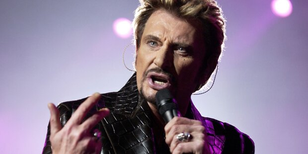 Rock-Legende Johnny Hallyday ist tot