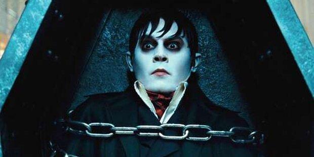 Johnny Depp als Vampir in