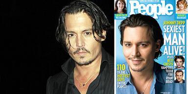 Johnny Depp ist der Sexiest Man Alive