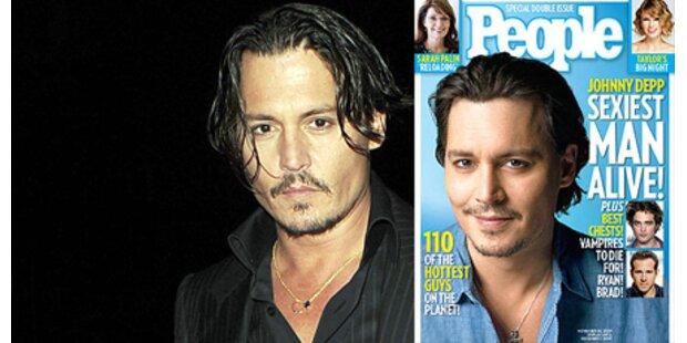 Johnny Depp ist der Sexiest Man Alive!