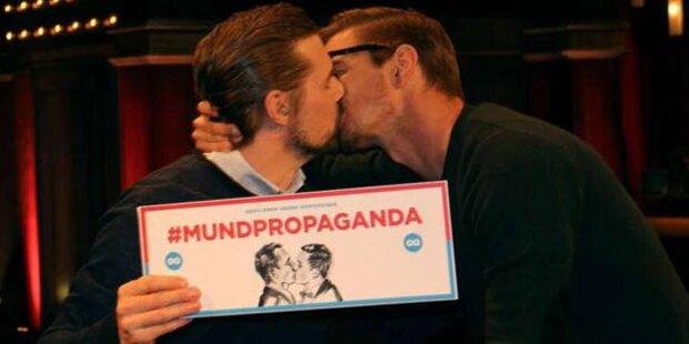 Joko & Klaas: Kuss - Foto entsetzt Facebook