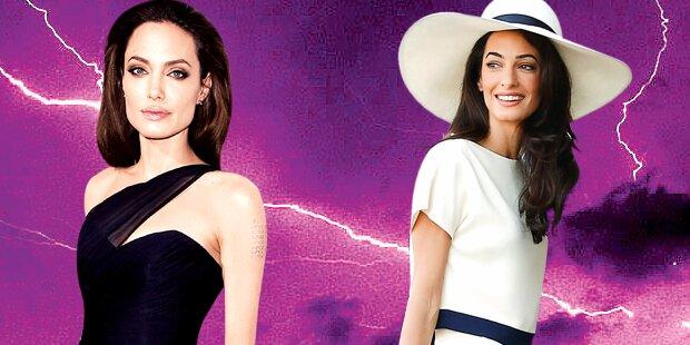 Angelina Jolie zickt gegen Amal