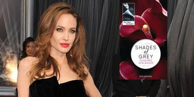 Angelina Jolie und Shades of Grey
