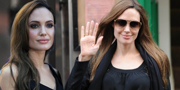 "Angelina Jolie: ""Bin froh noch zu leben"""